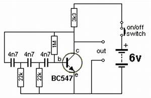 satheeshonnet With transistor phase shift oscillator