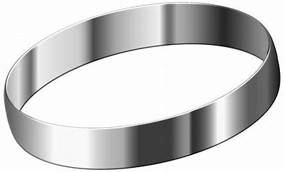 Steel Stainless Clipart Ring Metal Clipground Transparent
