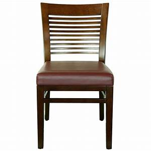 Wood, Decorative, Ladder, Back, Side, Chair, Upholstered, Seat