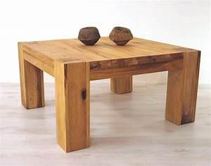Couch Tisch Eiche : couchtisch eiche massiv 80 80 com forafrica ~ Whattoseeinmadrid.com Haus und Dekorationen