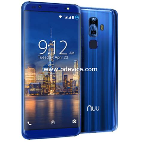 G3 Mobile by Nuu Mobile G3 Specifications Price Compare Features Review