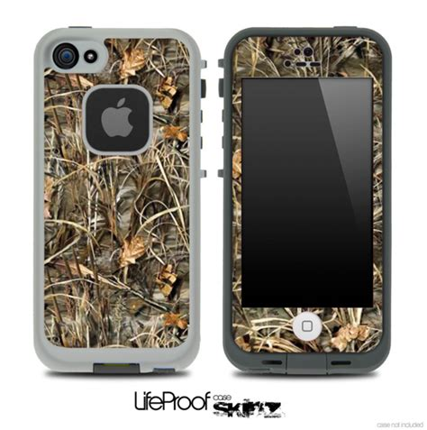 camo lifeproof iphone 5c real camouflage max skin for the iphone 5 or 4 4s