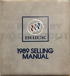 1989 Buick Riviera  U0026 Reatta Repair Shop Manual Original