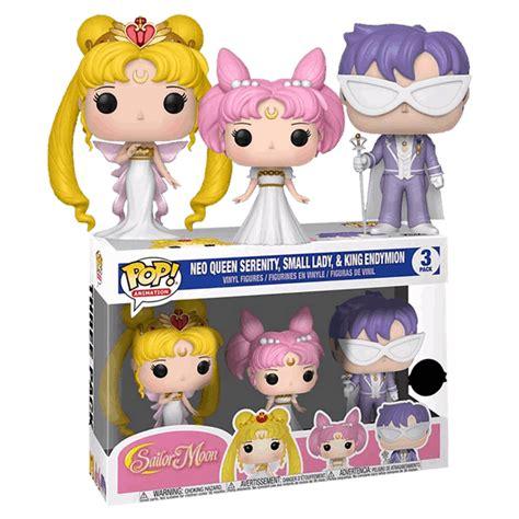 Sailor Moon - Serenity, Endy, Rini 3-Pack Pop! Vinyl