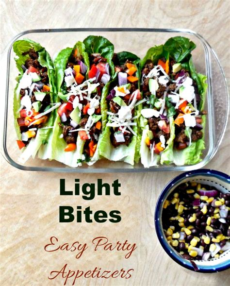 Light Bites by Easy Appetizers To Start Your Meal Or Right