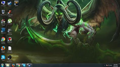 How To Get A Animated Wallpaper - how to get illidan stormrage animated desktop wallpaper