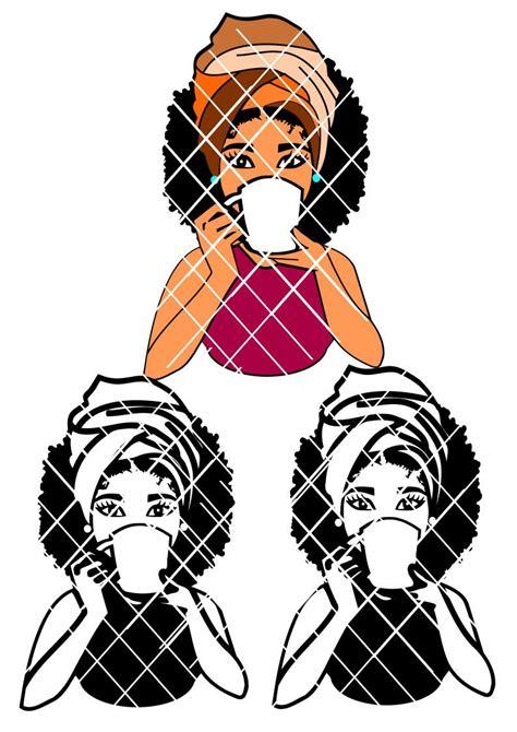 woman drinking  mug svgafro puff svgheadwrap svgsistah svgsilhouettet shirt designs