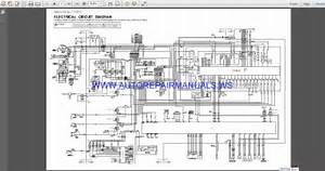 Hitachi Ex300-5 Ex370hd-5 Electrical Circuit Diagram Manual