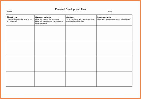 personal development plan childcare  lovely