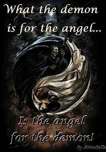 Dark Witch Quot... Angel And Evil Quotes
