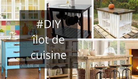 fabriquer un ilot de cuisine en bois comment fabriquer un îlot de cuisine