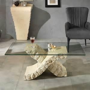 bad mediterraner stil 2 glastisch scarperion für wohnzimmer mit stein pharao24 de