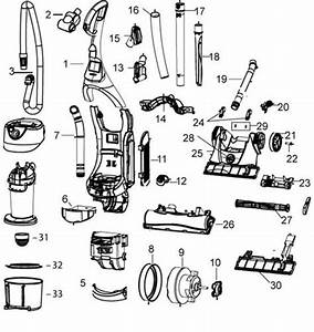 Bissell 3910 6390 82g7 Momentum Upright Vacuum Parts