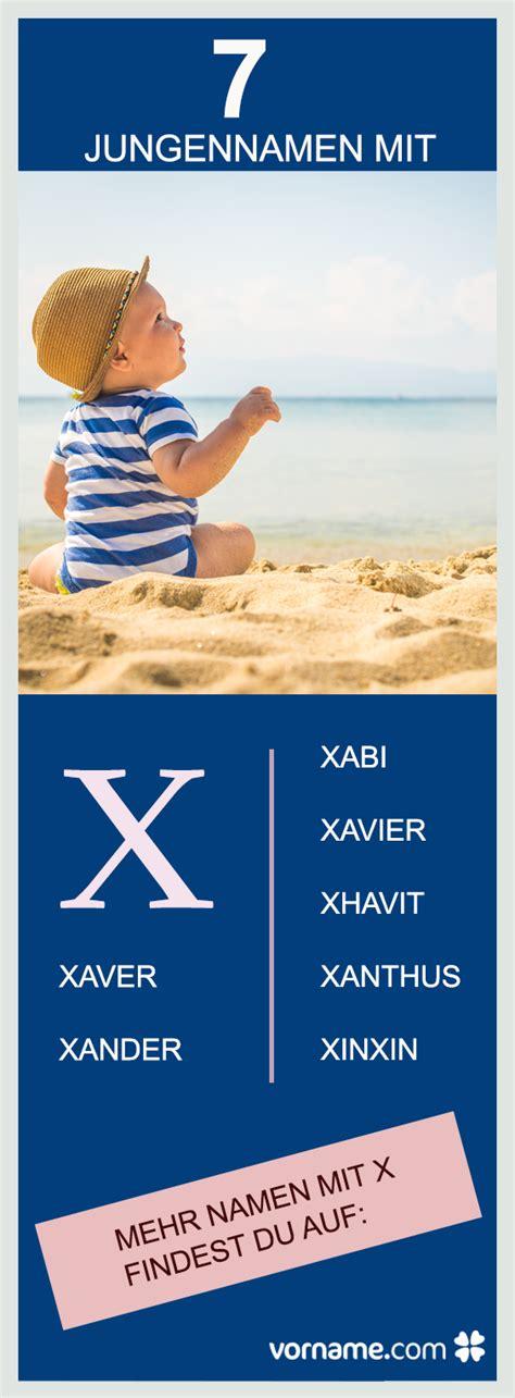 Jungennamen mit X  Vornamen, Söhne und Favoriten