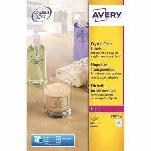 avery l7780 25 crystal clear round labels 40mm diameter With avery clear round stickers