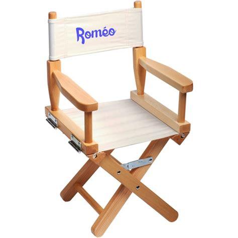 chaise metteur en scène bébé chaise metteur en scène enfant personnalisée naturel ecrue