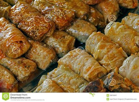 cuisine roumaine chou cuit nourriture roumaine traditionnelle