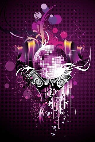 disco ball iphone wallpaper magazine web design