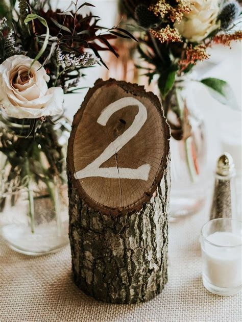 15 Unique Wedding Table Numbers We'll Help You Recreate