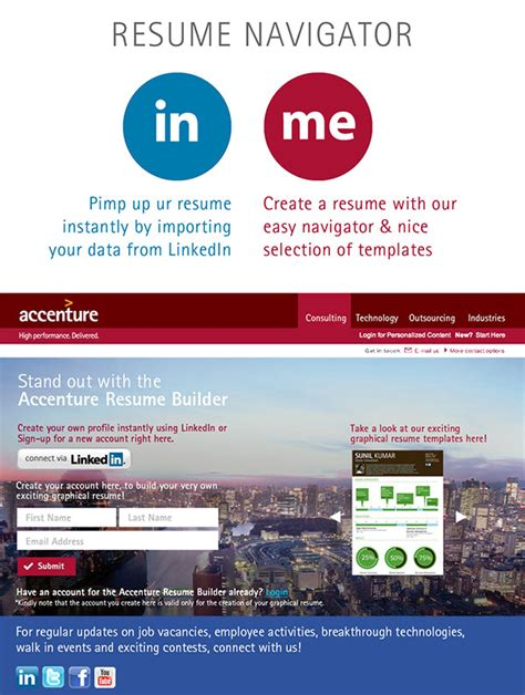 Interactive Resume Builder by Interactive Resume Builder On Behance