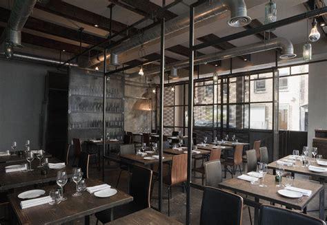 cuisine style bistro restaurant interior design industrial environment style