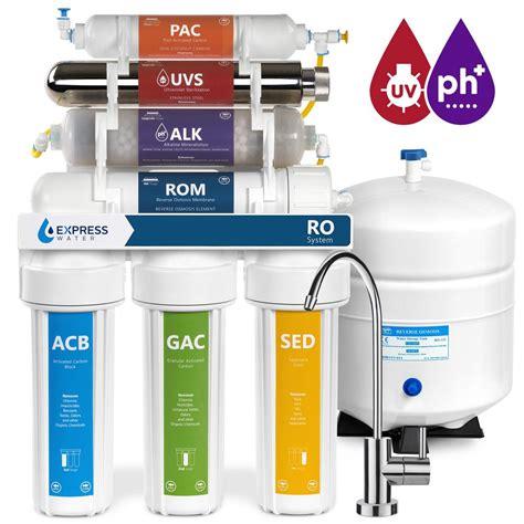 Express Water Alkaline Uv Under Sink Reverse Osmosis Water