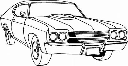Coloring Pages Cars Printable Classic Adults Popular