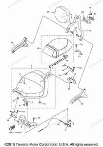 Yamaha Motorcycle 2011 Oem Parts Diagram For Seat