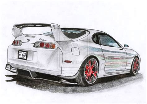 Toyota Supra Mk Iv Turbo By Arek-ogf On Deviantart