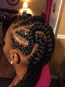 35 Beautiful Feed In Braid Styles Braid hairstyles, Hair style and Protective styles