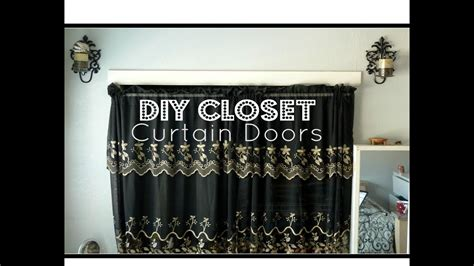Closet Cover Options by Diy Closet Curtain Doors Cheap Easy Room Decor