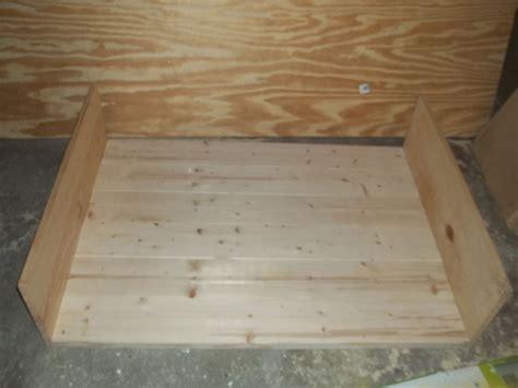 Hometalk | DIY Large Wooden Dog Bed