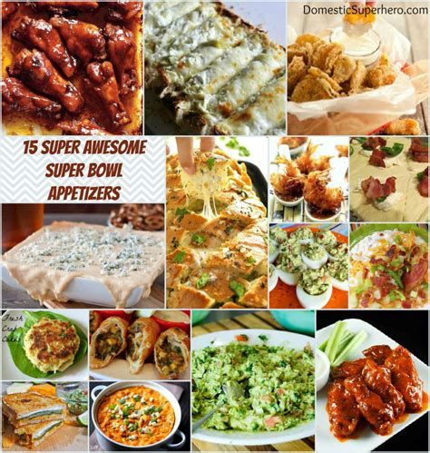 Appetizers For Bowl by 15 Awesome Bowl Appetizers Domestic