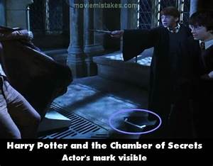 Harry Potter and the Chamber of Secrets movie mistake ...