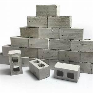 1:12 Scale Mini Cinder Blocks (50pk) – Mini Materials