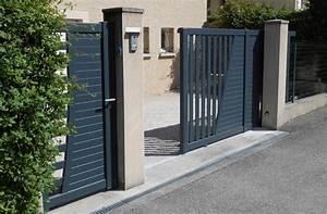 Fermeture De Portail Electrique : portail lectrique coulissant aluminium ~ Edinachiropracticcenter.com Idées de Décoration