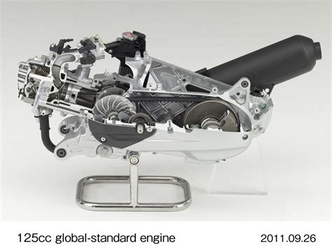 Honda Announces New 125cc Scooter Engine With Idle Stop
