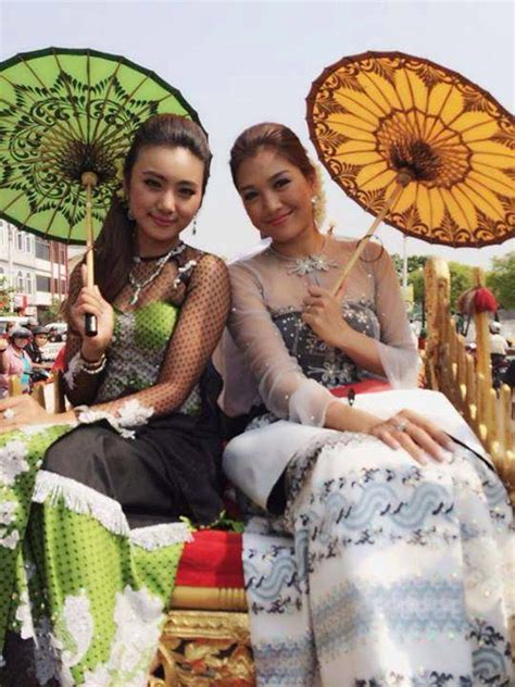 myanmar fashion dress  women  styles