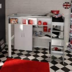 Lit Mezzanine Bureau Adolescent by Lit Ado Lit Et Mobilier Chambre Ado Lit Pour Adolescent