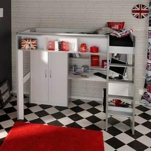 Lit Pour Ado : lits de lit de lit d 39 adolescent ~ Melissatoandfro.com Idées de Décoration