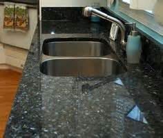 tiles for kitchen blue pearl granite counter with white subway tile 4607