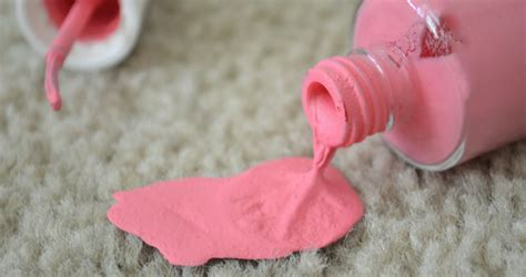 How To Get Nail Polish Out Of Carpet And Clothes