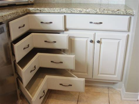 Corner Cabinet  Traditional  Kitchen  Houston  By
