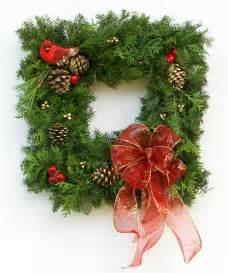 live fancy designer window peek wreath plants beautiful trees