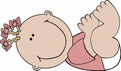 Clip Clipart Domain Newborn Toddler Babies Clker