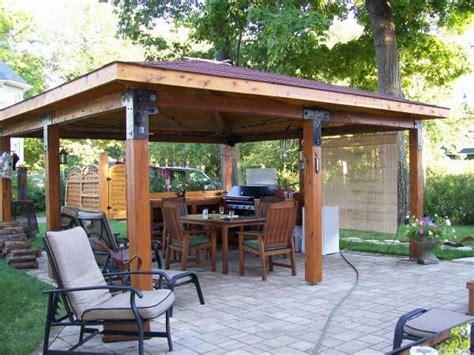 log gazebo plans back yard ideals gardens logs and search