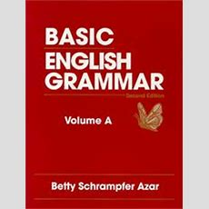 Basic English Grammar, Book A (november 17, 1995 Edition)  Open Library