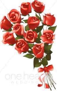 tree wedding invitations dozen roses clip flower bouquet clipart