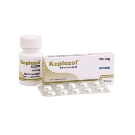 keplozol ketoconazol  mg  tabletas farmacia del