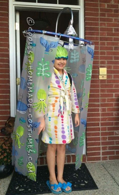 Duschvorhang Selber Machen by Cool Diy Costume Idea Shower Curtain Costume Karneval